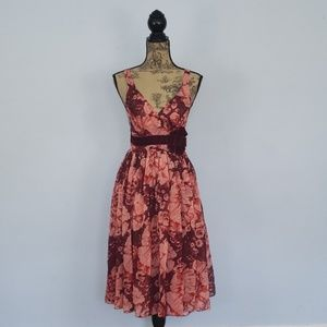 Anthropologie Tracy Reese Silk Floral Dress